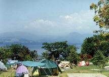 初めてのキャンプ(洞爺湖)