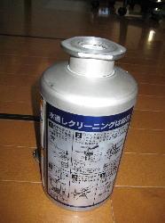 ビールサーバーの洗浄樽