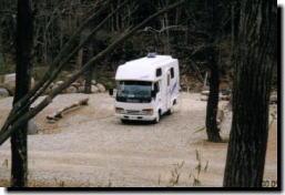 キャンピングカーで初キャンプ