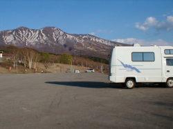 田沢湖高原温泉の駐車場