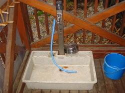洗い場も各棟にあり