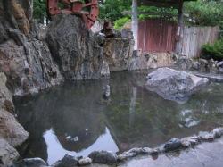 場内の温泉