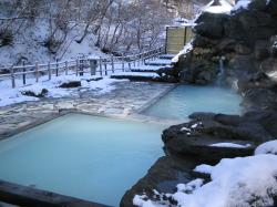 雪見 露天風呂