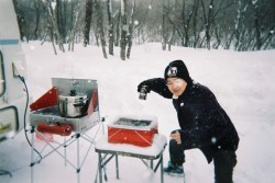 雪見のビール