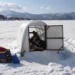 檜原湖ワカサギ釣り