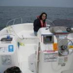ボートで海釣り